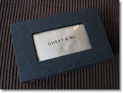 GUEST&ME フレグランスバー