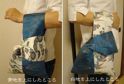 マザーズタッチの折り紙バッグ 使用イメージ
