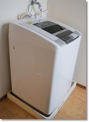 日立の洗濯乾燥機ビートウォッシュ(BW-D8MV)を購入