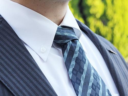 クリーニング後のワイシャツ&ネクタイ