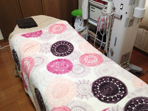 エステサロン ベッド