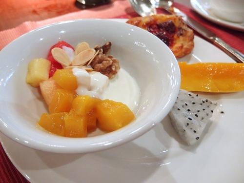 朝食ブッフェ フルーツ
