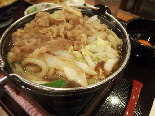 牛すき鍋うどん 丸亀製麺