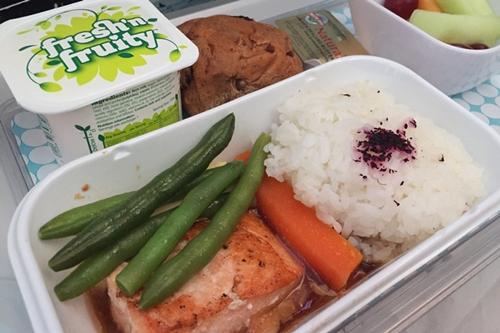 ニュージーランド航空の機内食、おいしかった! ニュージーランド旅行記7