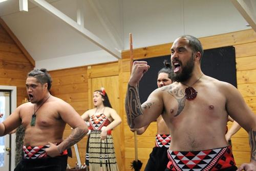 マオリ文化ショー ハカ