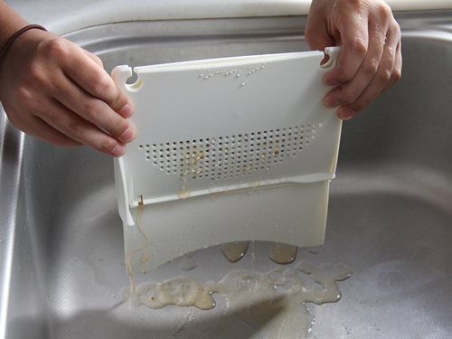 生ゴミ水切り器