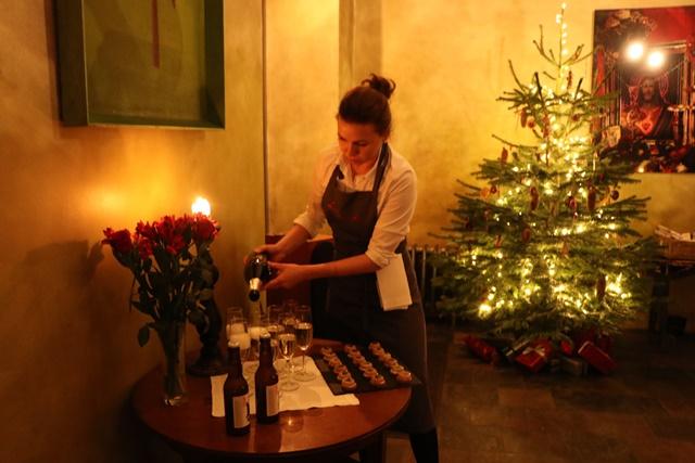 タリンでモダン・エストニア・クリスマスフード体験