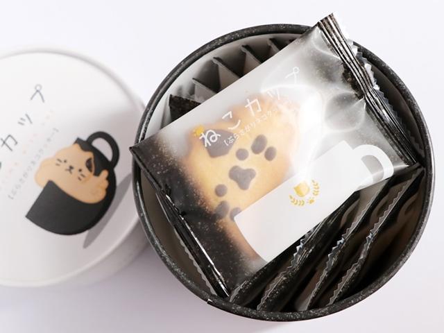 ねこカップ ぶらさがりネコクッキー