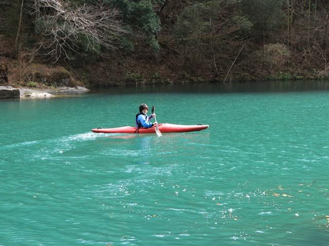 【青梅2日目】みたけカヌー教室のカヤック体験ツアーに参加し、「やお九」で御岳だんご汁【PR】