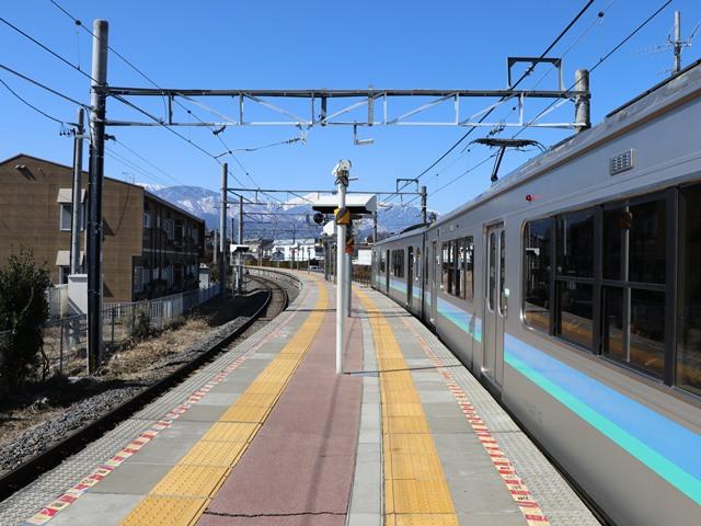 長野県松本市 島内駅