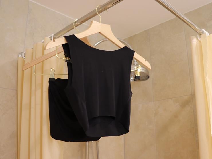 スムーン 旅行先のホテルで洗濯して乾かす