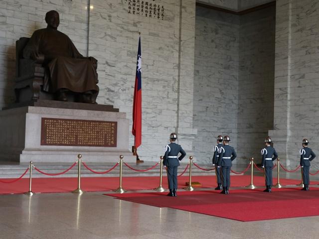 中正紀念堂 衛兵交代式