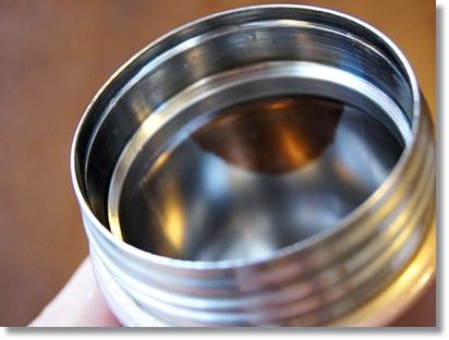 オキシクリーンで水筒の内側を漂白