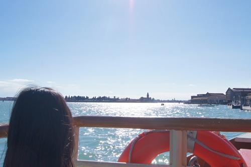 ムラーノ島へ