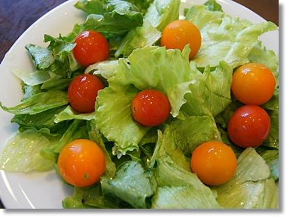 高原レタス カラフルミニトマト