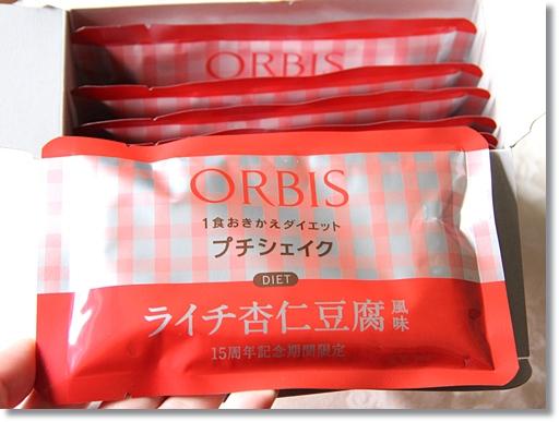 オルビス プチシェイク ライチ杏仁豆腐風味 7袋入り