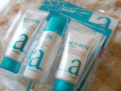 アクトノブ(ACT-NOV) ノブから生まれた高機能にきびケア