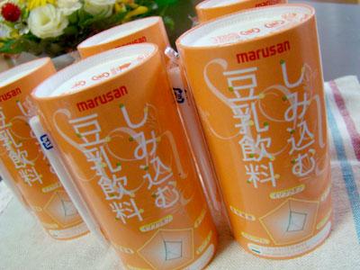 マルサンアイの「しみ込む豆乳飲料」 感想
