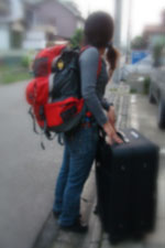 妹がイタリア留学へ出発 again