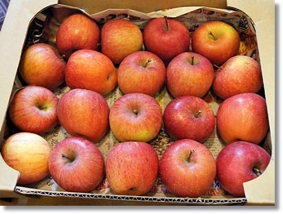 志賀高原蜜っ娘サンふじりんご、安くておいしいから家庭用にぴったり