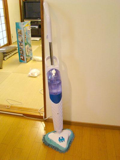 H2Oスチームモップで玄関のたたきを掃除 (年末大掃除)