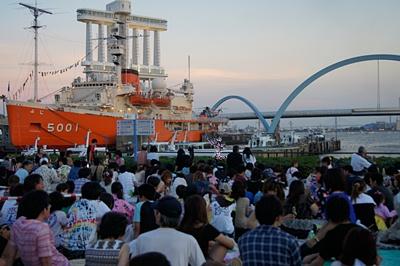 第64回海の日名古屋みなと祭花火大会に行ってきました。