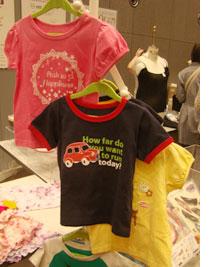 【見本市レポ】 ベルメゾンネットの子供服 プリントTシャツ(ジータ)