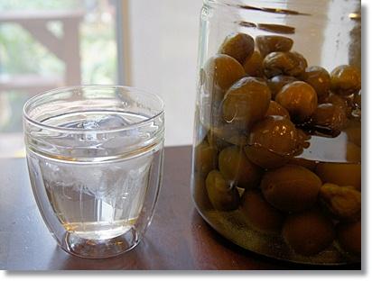 今年は梅酒じゃなくて、梅シロップ(梅ジュース)を作りました