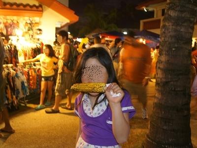 子連れグアム旅行2012 その3 チャモロビレッジナイトマーケット