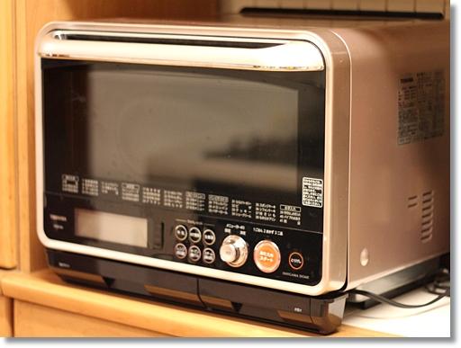 東芝 過熱水蒸気オーブンレンジ 石窯ドーム ER-KD320、買いました。