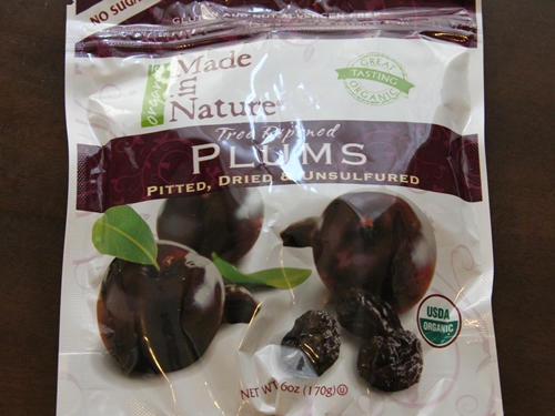 Made in Nature Organic Plums