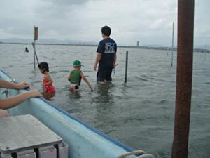 浜名湖(弁天島)で潮干狩り
