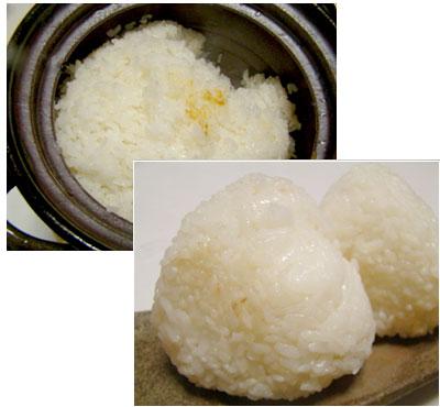 いろいろな銘柄のお米を少しずつ食べ比べるという贅沢