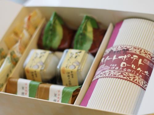 伊藤久右衛門の宇治抹茶スイーツセット「秋みのり」