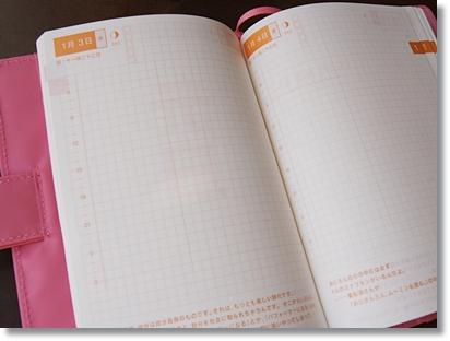 2013年は「ほぼ日手帳(オリジナル/さくら)」でいこう。