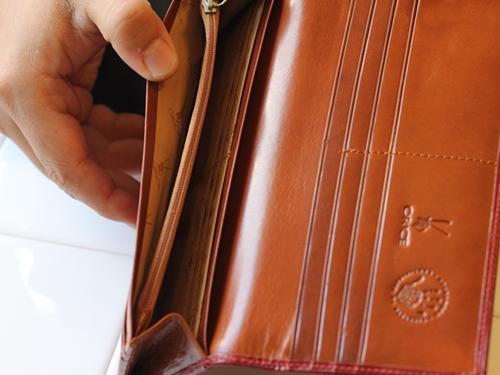 オリーチェレザー 長財布