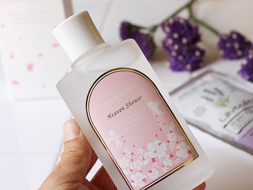 キャメロン&ガブリエル 最初に使う角質柔軟導入美容水「ヘヴンシャワー」