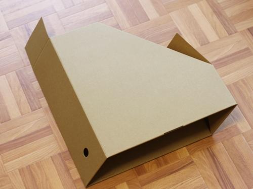 ダンボールスタンドファイルボックス