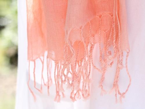 帝国繊維リネン100%ふんわりストール 夏の日よけにも、冷房対策にも。