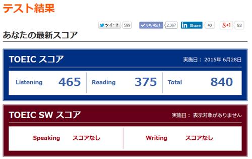 TOEICで目標スコアの840を達成! スコアアップにつながった英語学習法