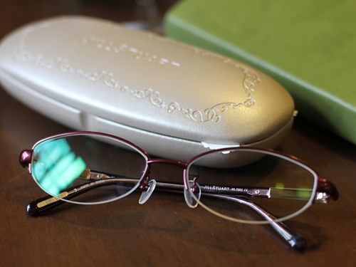 JILL STUART(ジルスチュアート)の眼鏡