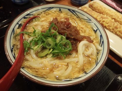 肉たまあんかけ(並) 丸亀製麺