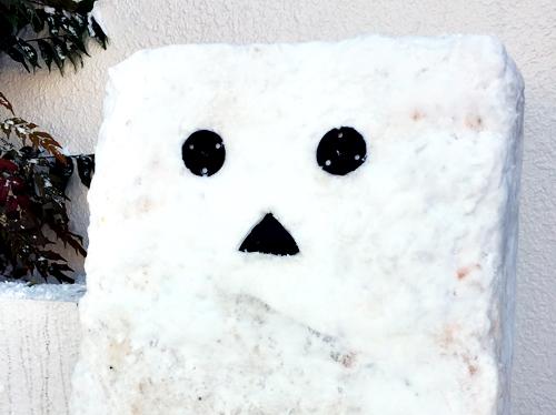 雪ダンボー