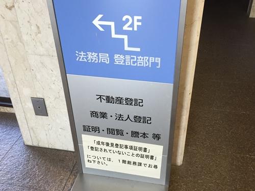 法務局 登記部門