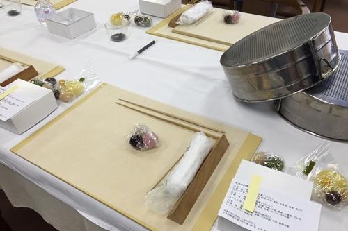 寿長生の郷 和菓子作り体験
