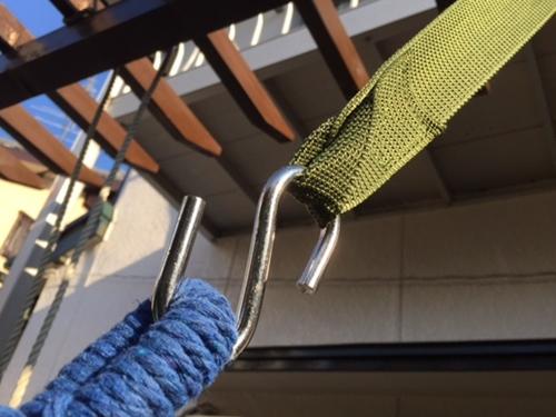 ハンモック用ベルト ロープ