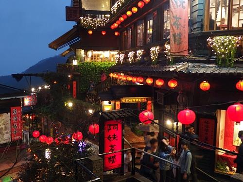 台湾に行くならやっぱり行きたい「九份(九ふん)」、夕方~夜がおすすめ