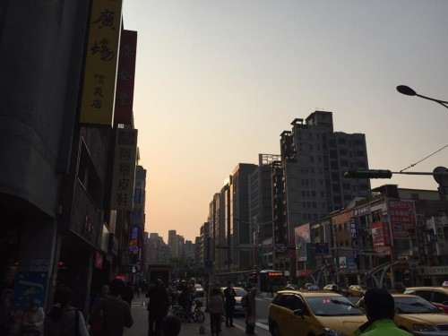 台北市内の様子