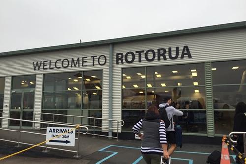 ロトルア空港 ニュージーランド