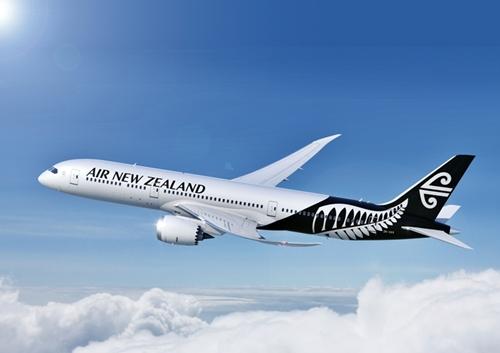 ニュージーランド航空機 B787-9